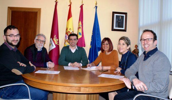 LA NUEVA JUNTA DIRECTIVA DE LA APAB TRASLADA UNA BATERÍA DE REIVINDICACIONES AL ALCALDE DE ALBACETE