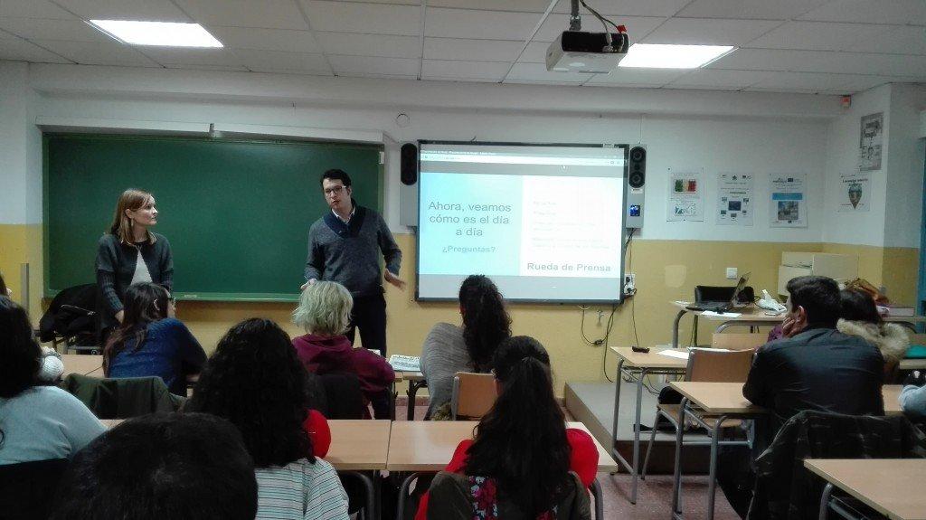 LA APAB INICIA EL PROGRAMA 'EL PERIODISMO EN LA ESCUELA'