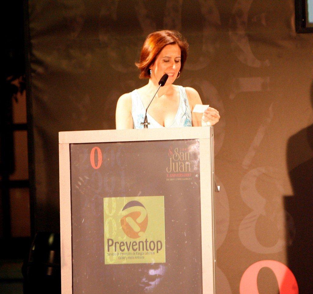 """MARIA JOSÉ NAVARRO, PREMIADA POR LA ASOCIACIÓN DE PERIODISTAS DE ALBACETE POR SU """"TRAYECTORIA PROFESIONAL"""""""
