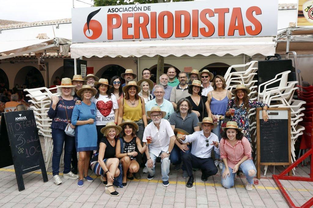 Comida de los Peridositas en la Feria de Albacete 2018
