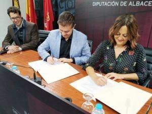 Convenio Marco APAB y Diputación de Albacete - Octubre 2018