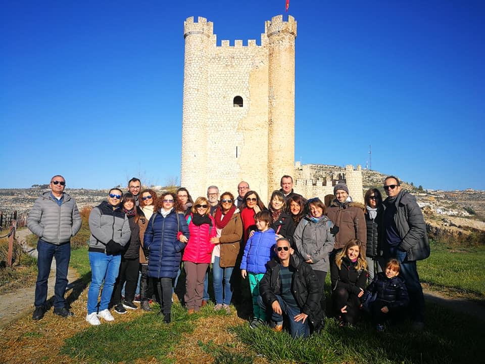 La Asociación de Periodistas de Albacete realizó este fin de semana un viaje a Alcalá del Júcar