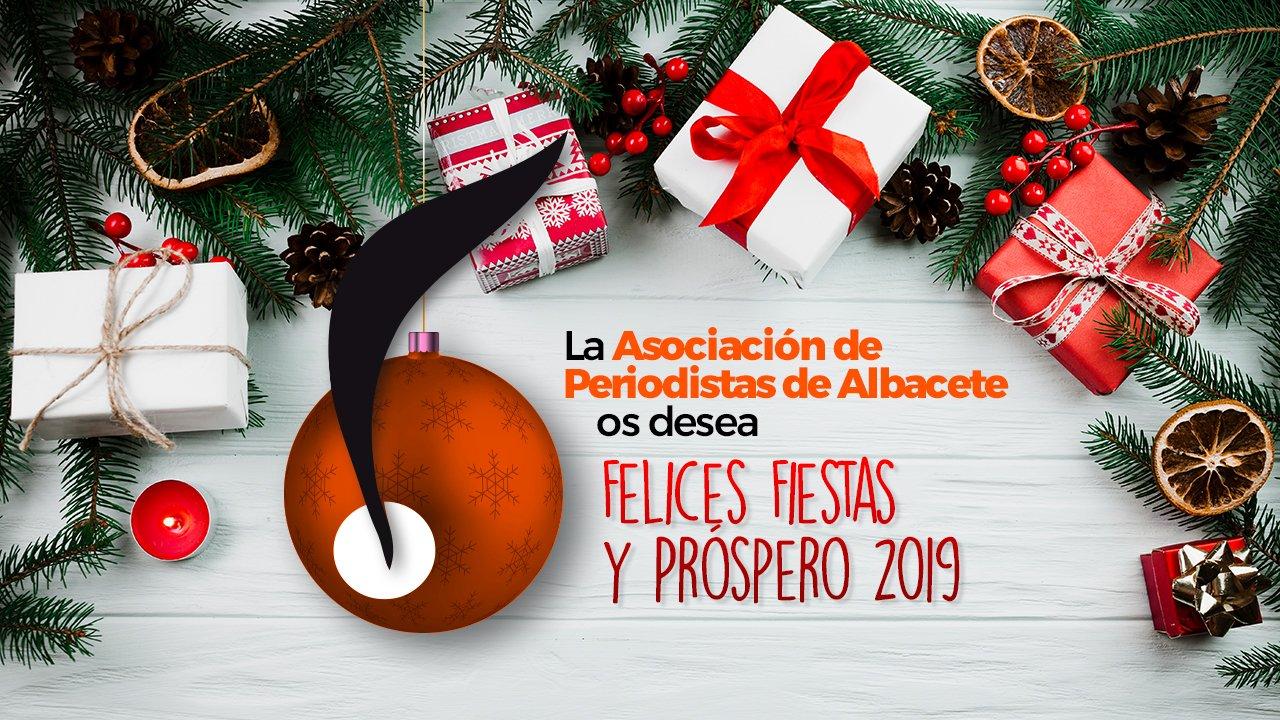 La APAB les desea ¡Felices Fiestas y Próspero 2019!