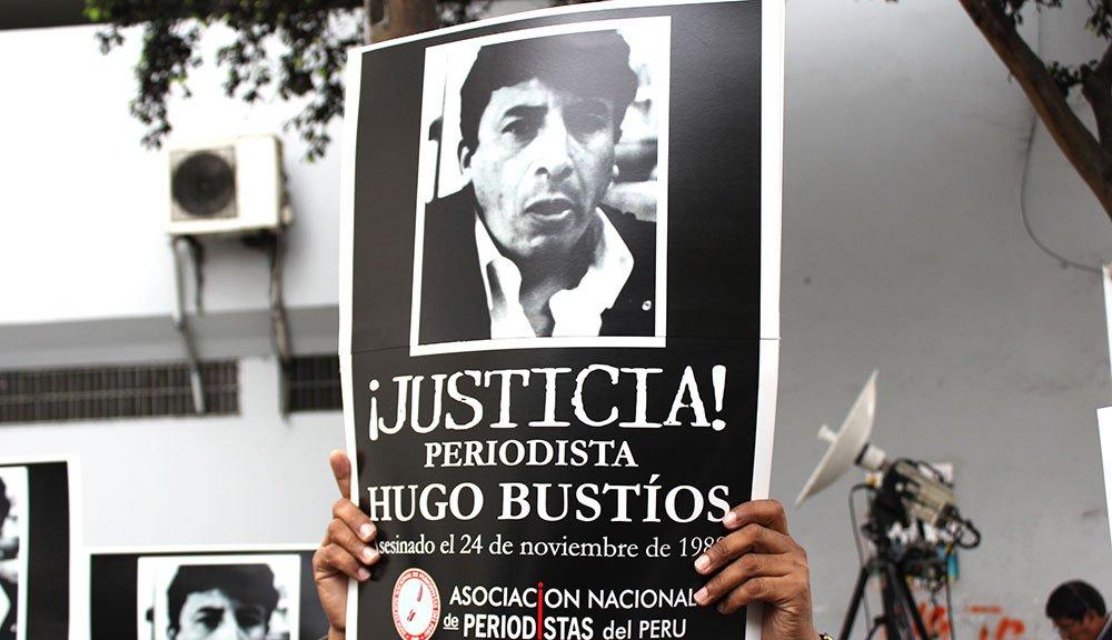 La FAPE reclama una sentencia justa e imparcial en el caso del periodista peruano Hugo Bustíos