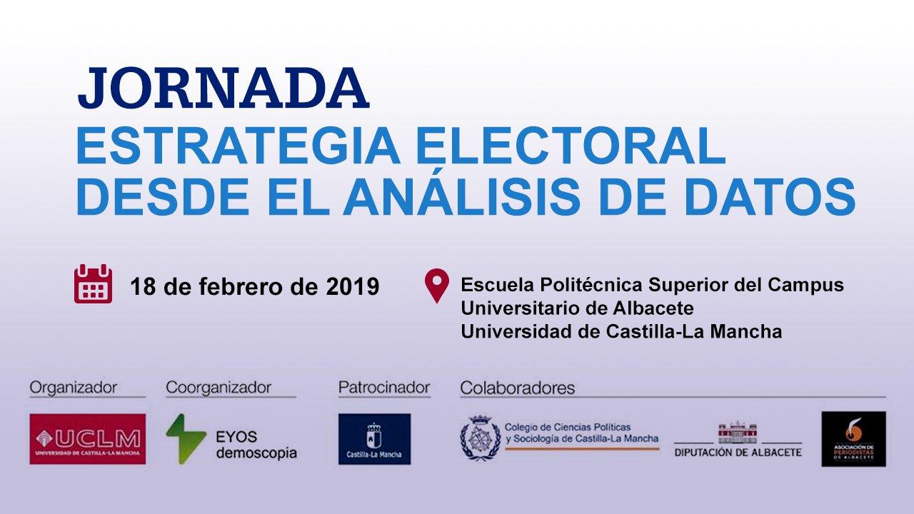 """El periodista Juan Pedro Castillo de la APAB participará el próximo 18 de febrero en la jornada """"Estrategia electoral desde el análisis de datos""""."""