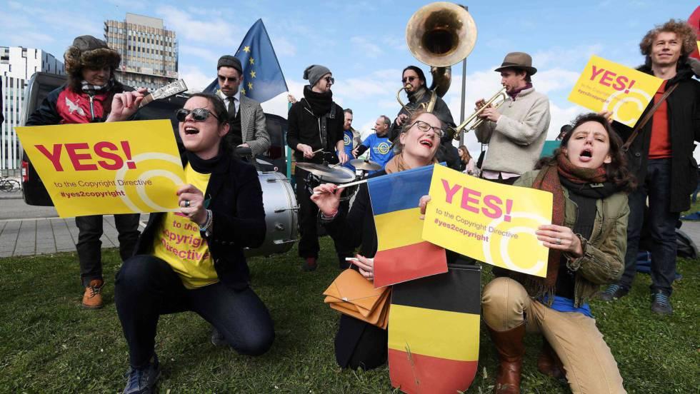 La reforma europea de los derechos de autor abre una nueva era en Internet