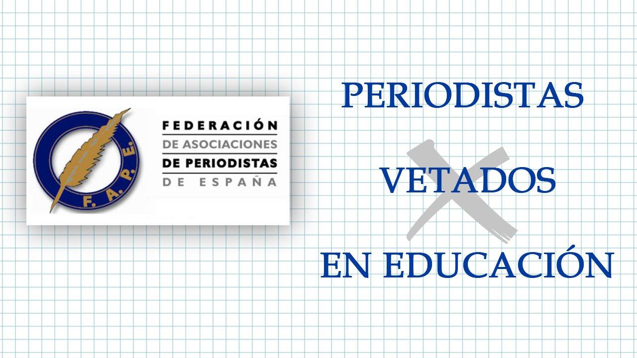 La FAPE rechaza enérgicamente el cese de periodistas docentes en Castilla-La Mancha