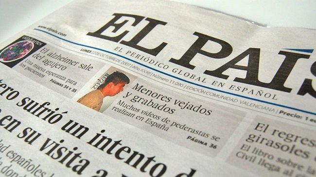 La difusión de los cinco grandes diarios nacionales es menor a la de El País en 2008