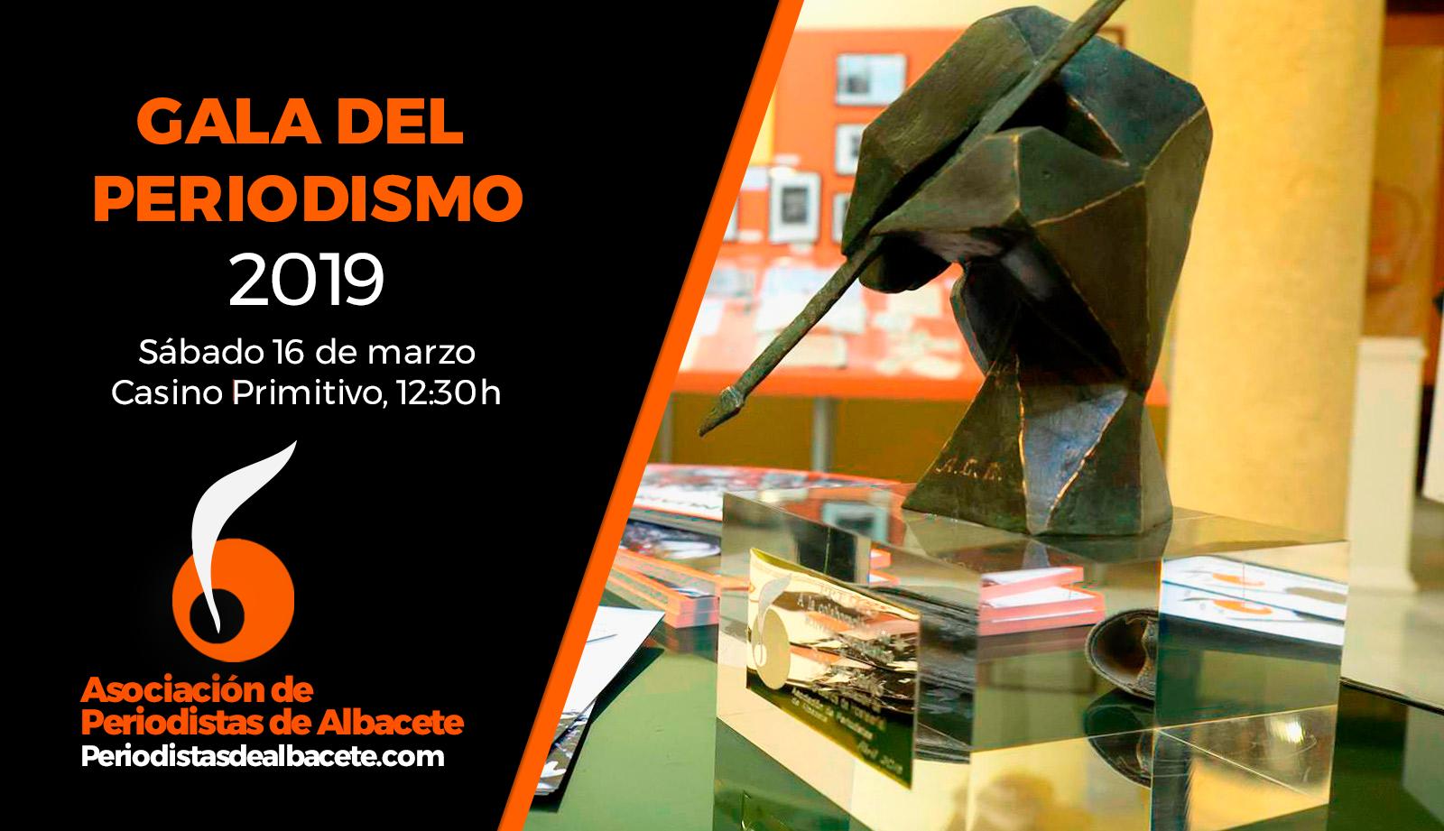 La Asociación de Periodistas de Albacete (APAB) celebra mañana sábado, a las 12,30 horas, en el Casino Primitivo de esta ciudad, su tradicional Gala de Periodismo