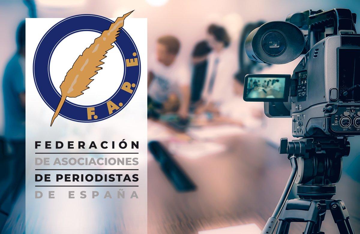 Moncloa recoge las propuestas de la FAPE y la APM y plantea ruedas de prensa con medios en directo