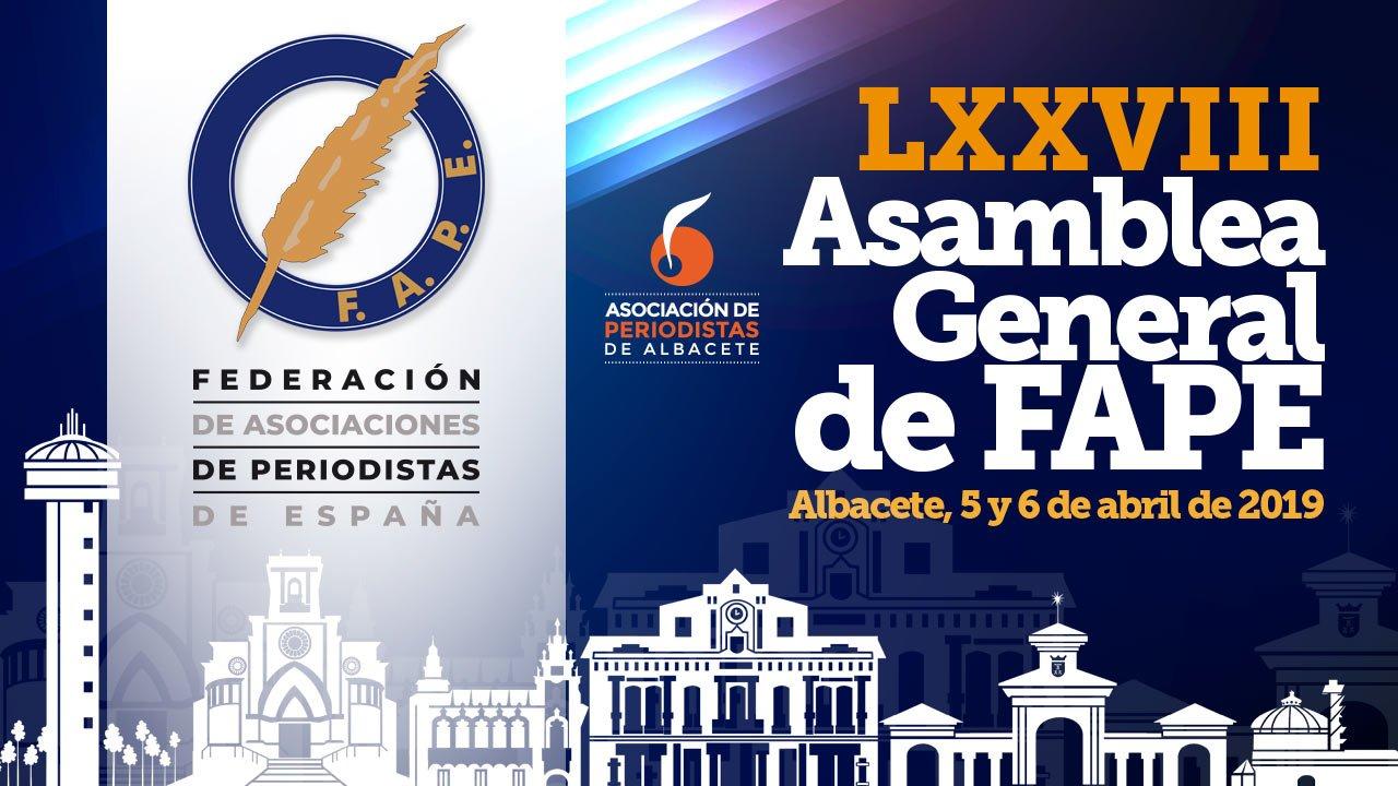 La normalización de la situación de los periodistas en el sector público será objeto de debate en la LXXVIII Asamblea General de la FAPE