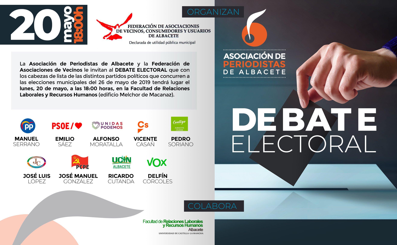 Debate Electoral - invitación