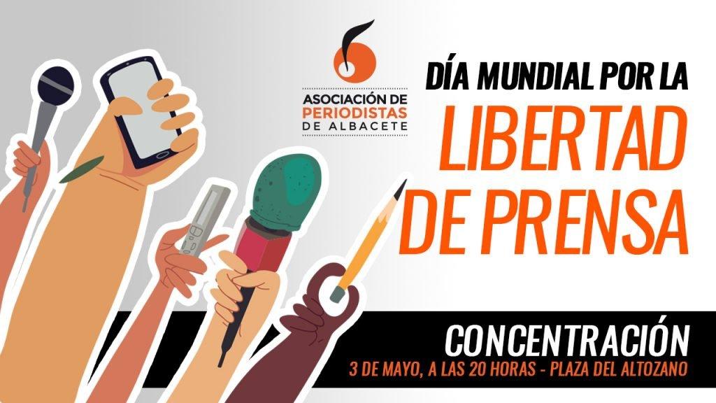 Concentración de la APAB por el Día Mundial por la Libertad de Prensa