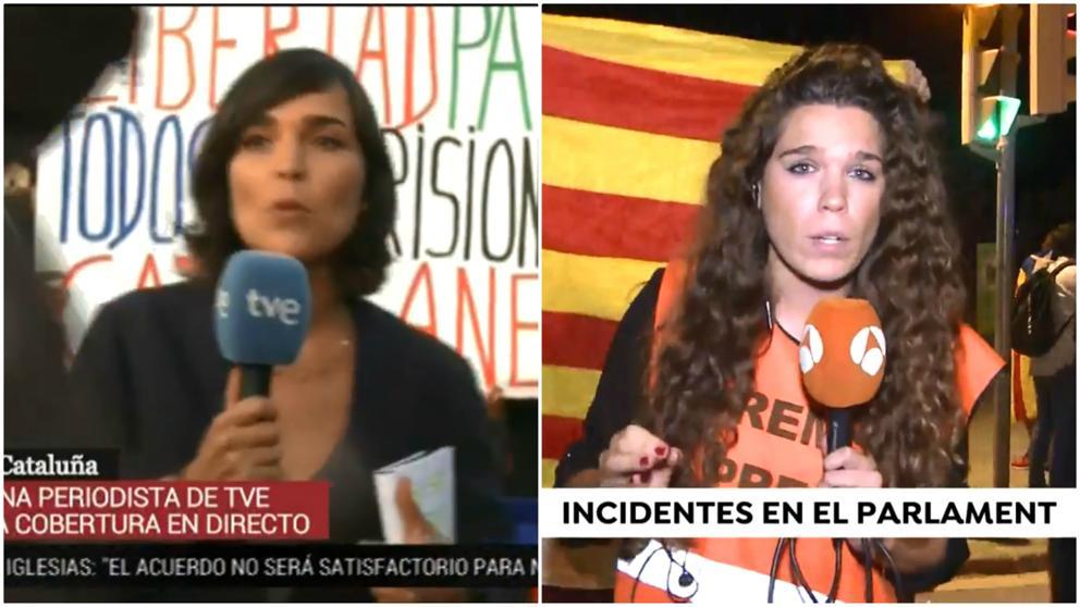 La FAPE condena las agresiones a periodistas en Barcelona