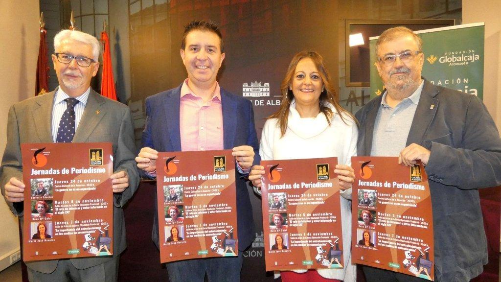 Presentación de las III Jornadas de Periodismo FOTO: Dipualba.es