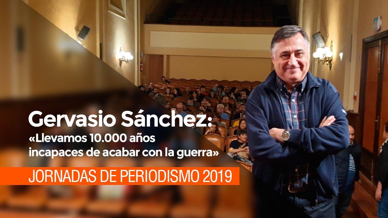 Gervasio Sánchez: «Llevamos 10.000 años incapaces de acabar con la guerra»