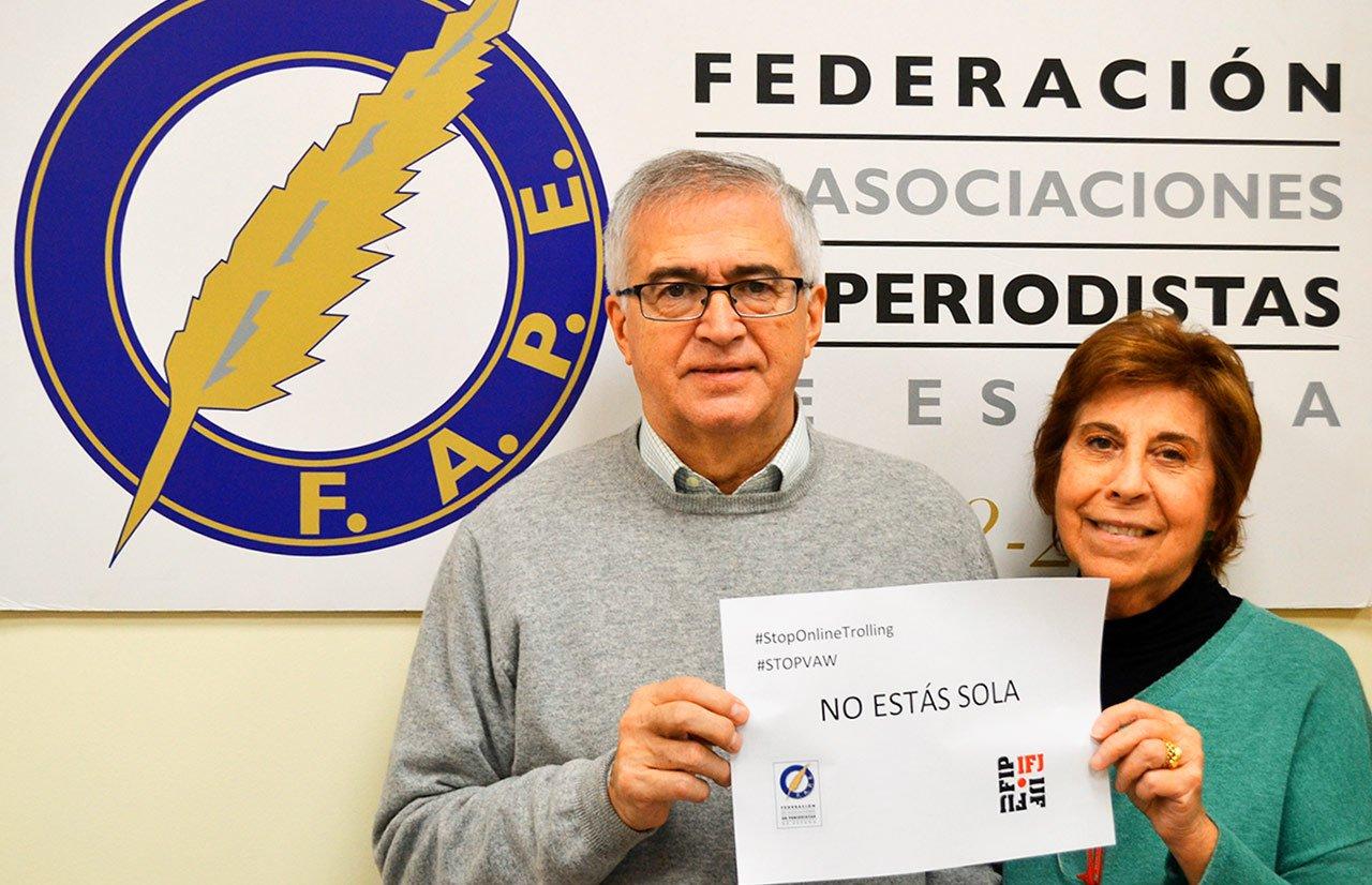 La FAPE reclama medidas de Protección para las periodistas ante el acoso online