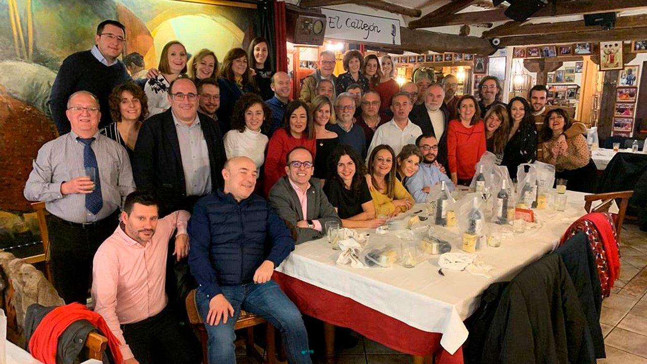 La APAB celebra un año más la cena de la fetividad de su patrón: San Francisco de Sales, ptrón de periodistas escritores y comuncadores audiovisuales