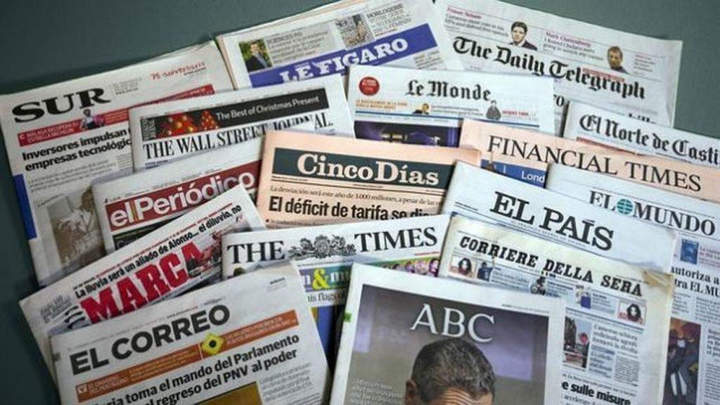 Los grandes periódicos impresos cierran otro año negro en difusión de ejemplares