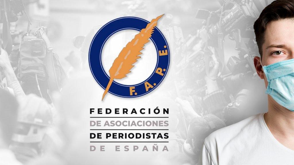 La FAPE apoya y se solidariza con los periodistas que están trabajando para tener informada a la población