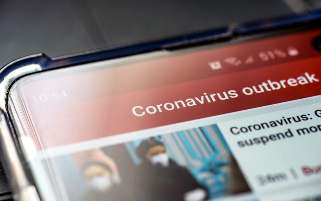 Coronavirus: las visitas a medios de comunicación crecen un 59% en España, según Comscore