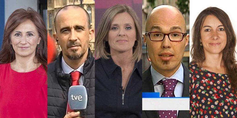 Relevos en corresponsalías de RTVE