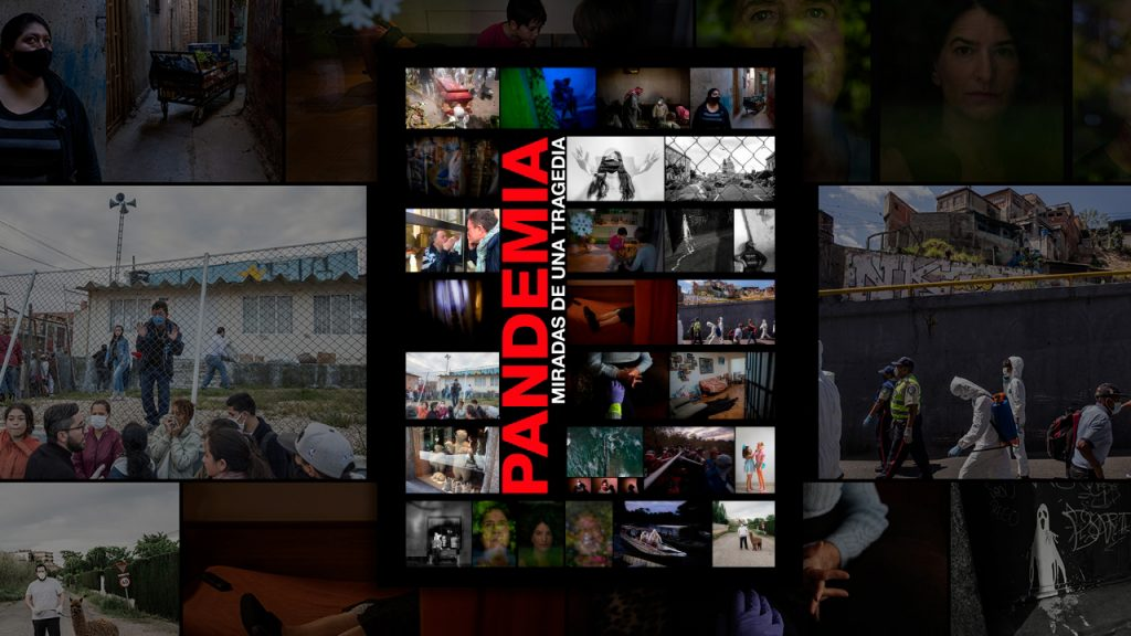 """Campaña altruista de compra del libro """"Pandemia, miradas de una tragedia"""" para ayudar a familiares de fotógrafos y fotógrafas muertas durante la cobertura de la pandemia"""