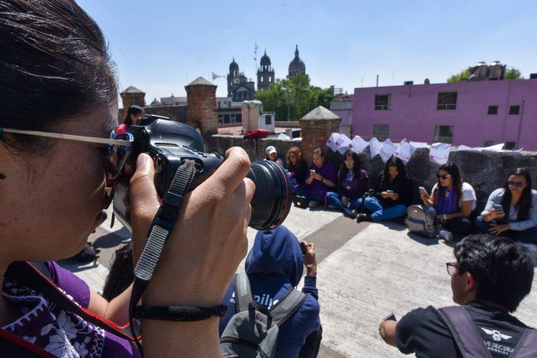 En en Estado de México 9 de cada diez periodistas mujeres han sufrido algún tipo de violencia en el ejercicio de su profesión.