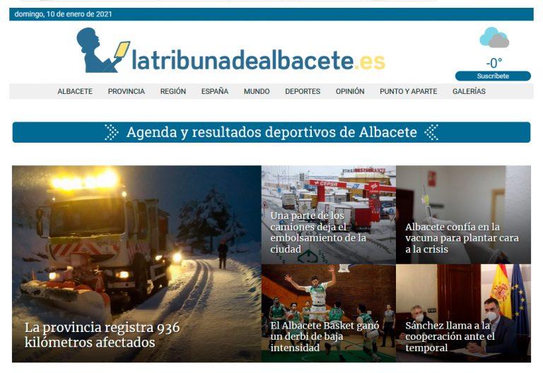 La Tribuna de Albacete ofrece de forma gratuita los números de ayer y hoy para leer online en su kiosco a todos los usuarios.