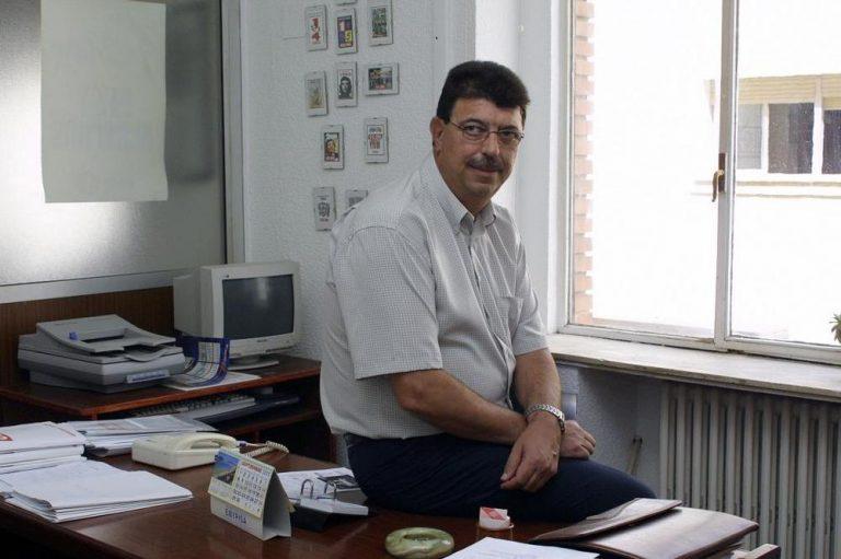 José Francisco del Campo, en su despacho en CCOO. - Foto: Consuelo López