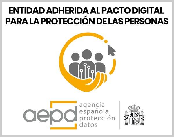 entidad adherida al Pacto Digital para la Protección de las Personas