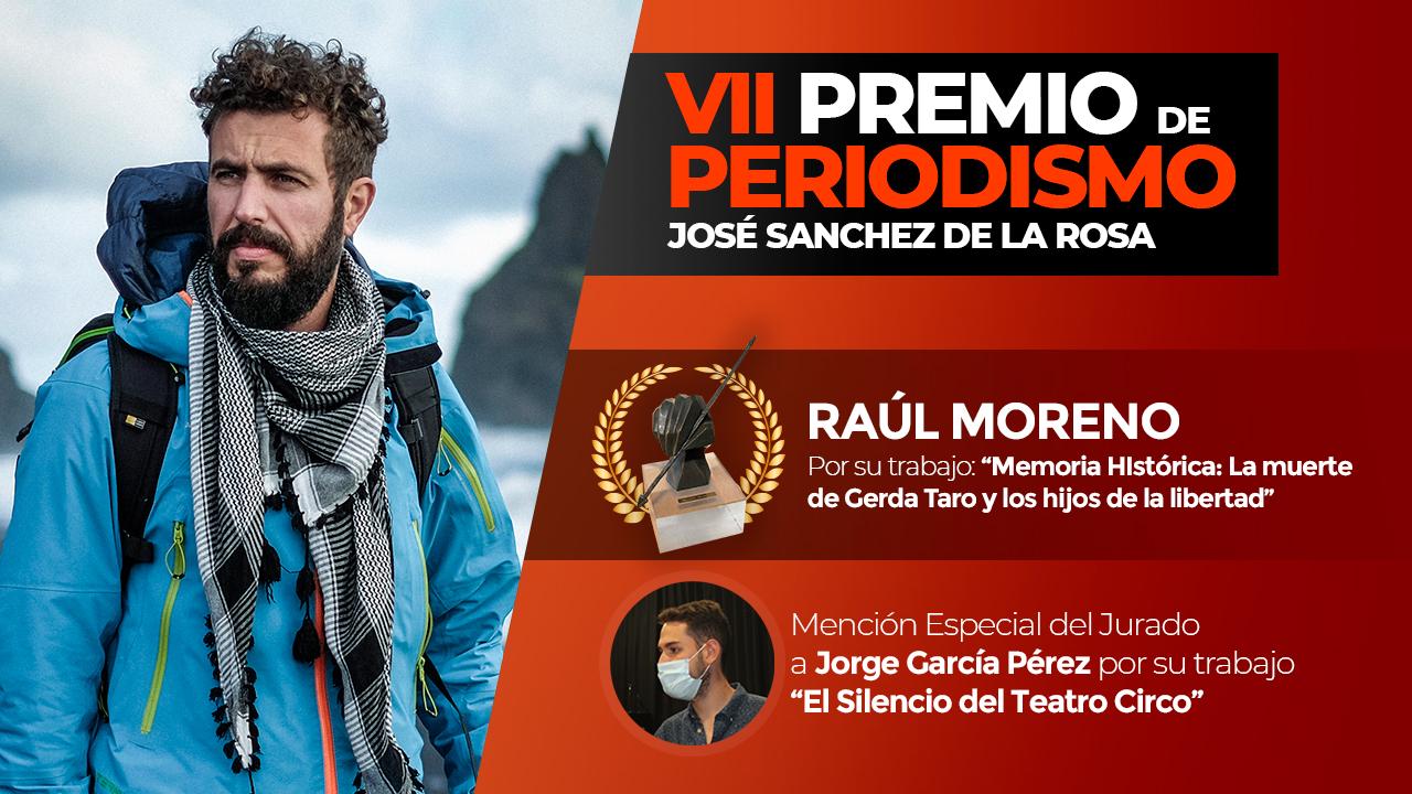 Fallado el VII Premio de Periodismo 'José Sánchez de la Rosa'