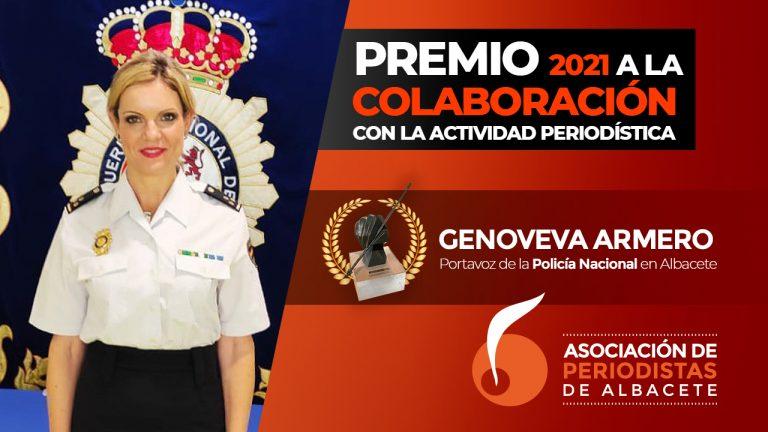 GENOVEVA ARMERO, PREMIO A LA COLABORACIÓN CON LA ACTIVIDAD PERIODÍSTICA 2021