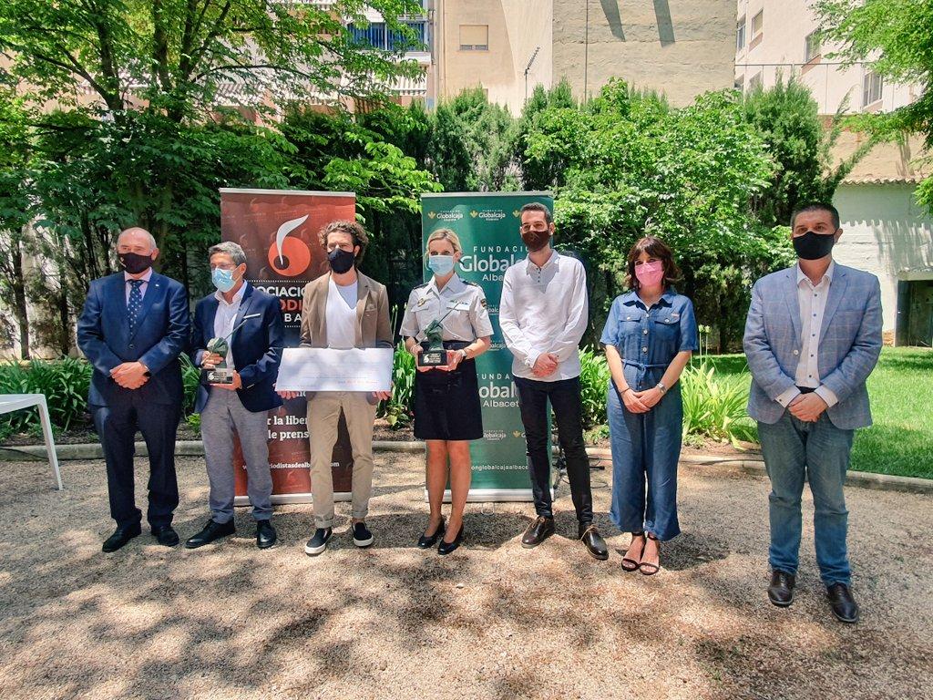 Acto de entrega de Premios del Periodismo y la presentación del Anuario 2020 de la Asociación de Periodistas de Albacete.
