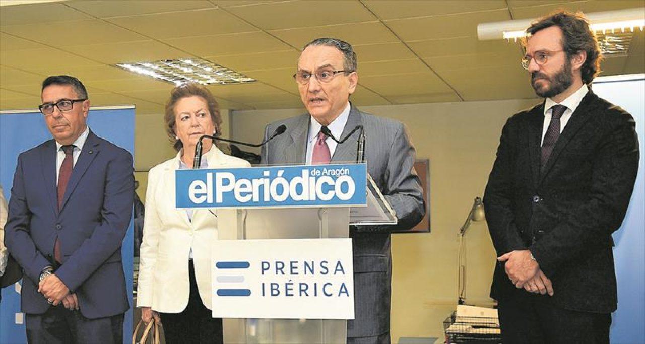 Prensa Ibérica aprueba un ERTE para 'El Periódico de Aragón' y otras cinco cabeceras