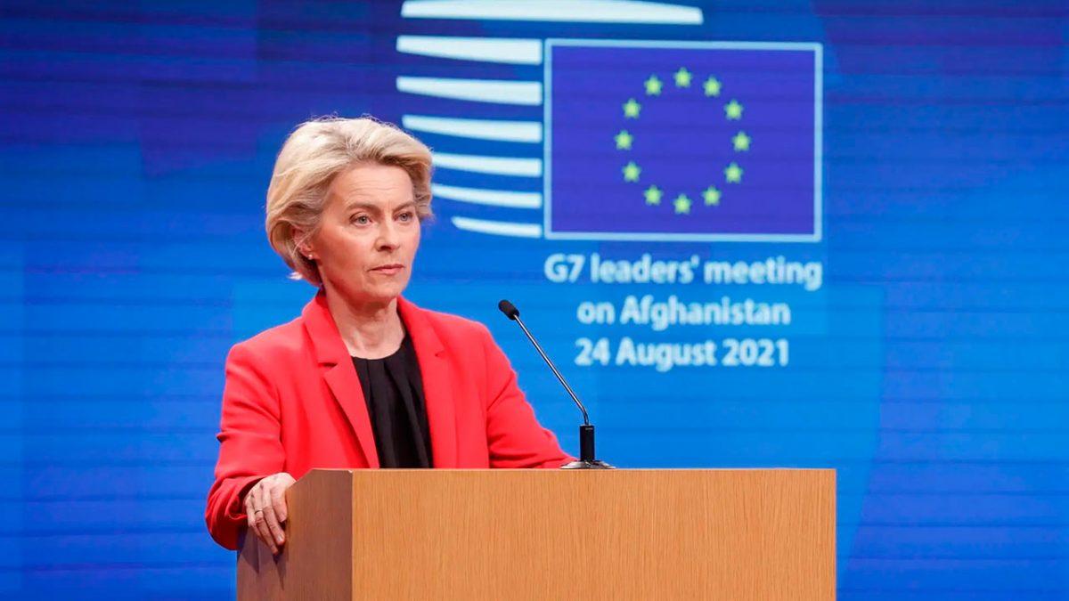 Presidenta de la Comisión Europea, Úrsula Von der Leyen