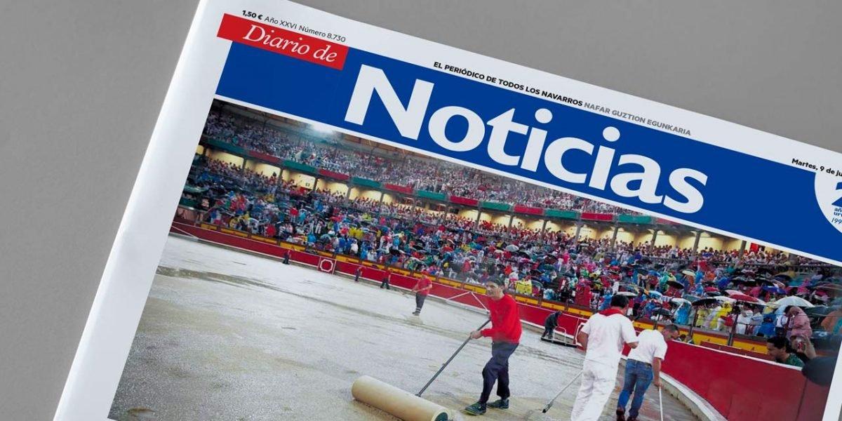 Diario de Noticias de Navarra cierra dos delegaciones y provoca una huelga indefinida en plenos Sanfermines.